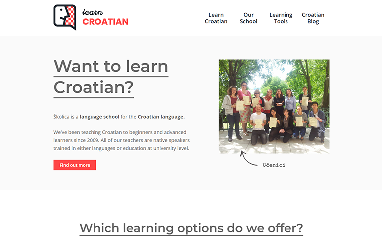 learncroatian.eu